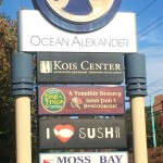 Pointing the way to the Kois Center